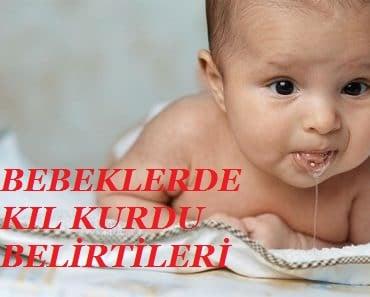 bebeklerde kıl kurdu belirtileri